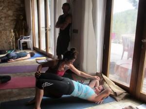 gemma teaching backbend