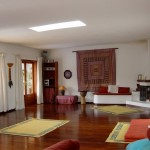 villa amatista yoga room