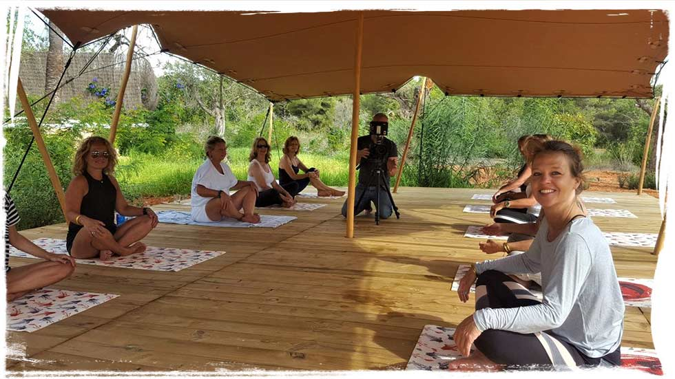 Still Flowing Yoga Teacher Training. 6th October – 3rd November 2018. Can Tunio, Sta. Gertrudis, Ibiza