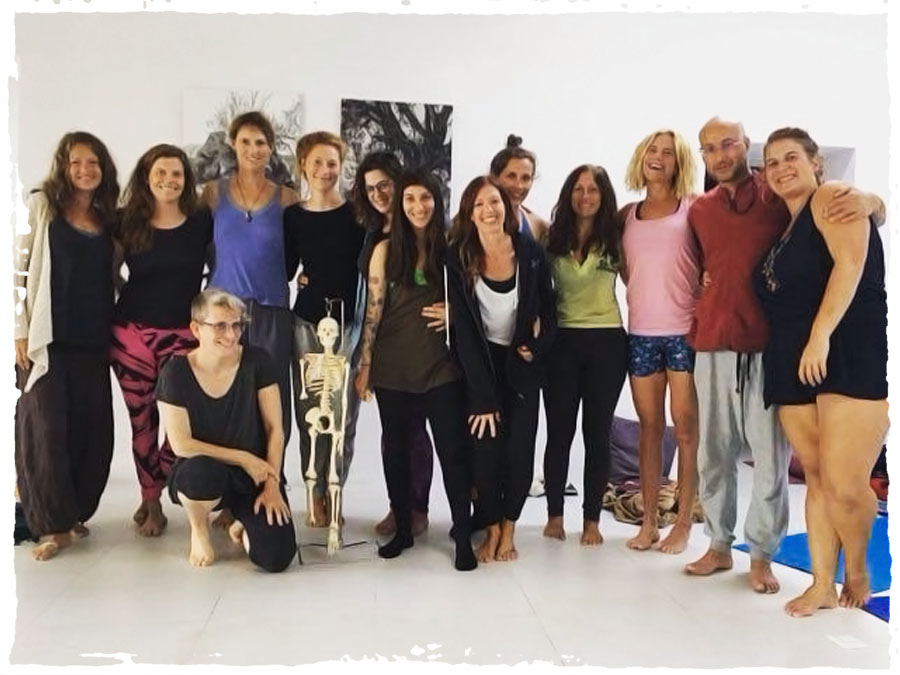 Still Flowing Yoga Teacher Training Group 2018 at Can Tunio Ibiza